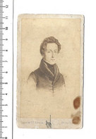 Photo CDV - Frederic Chopin Pianiste Compositeur De Musique. - Unclassified
