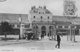 DIJON - La Gare (Ligne P.L.M.) -  Animé - Précurseur - Dijon