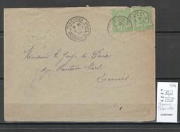 Tunisie - Lettre - Cachet De TEBOURBA - 1904 - Cartas