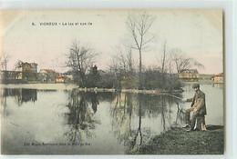 8455 - VIGNEUX SUR SEINE - LE LAC ET SON ILE - Vigneux Sur Seine