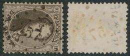 """Médaillon Dentelé - N°14 Obl Pt 57 (Lp 57) """"Brugelette"""" / Collection Spécialisée. - 1863-1864 Medaillons (13/16)"""
