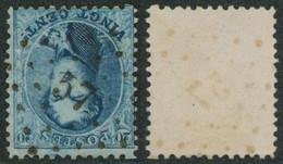 """Médaillon Dentelé - N°15 Obl Pt 57 (Lp 57) """"Brugelette"""" / Collection Spécialisée. - 1863-1864 Medaillons (13/16)"""