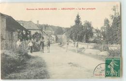 36465 - ARGANCON - ENVIRONS DE BAR SUR AUBE/  LA RUE PRINCIPALE - Non Classificati