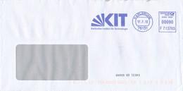 BRD / Bund Karlsruhe AFS 2012 KIT Karlsruher Institut Für Technologie Universität Karlsruhe - Machine Stamps (ATM)