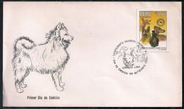 Pérou 1988 FDC Race De Chiens - Dogs