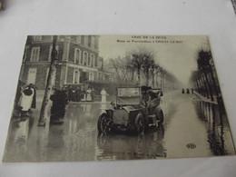 Paris La Crue De La Seine Route De Fontainebleau A Choisy Le Roi - Inondations De 1910