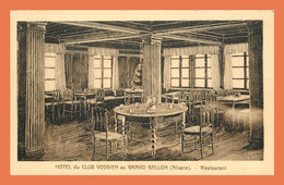 A510 / 541 68 - Hotel Du Club Vosgien Au Grand Ballon Restaurant - Non Classificati