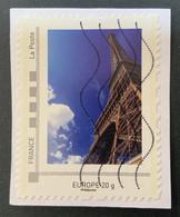 France - Eiffel Tower, Europe 20 G. - Used - Adhésifs (autocollants)