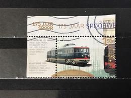 Nederland / The Netherlands - 175 Jaar Spoorwegen 2014 - Used Stamps
