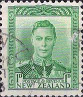 6079 Mi.Nr. 239 Neuseeland (1941) König King George VI Gestempelt - Used Stamps