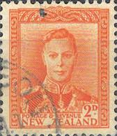 6080 Mi.Nr. 242 Neuseeland (1947) König King George VI Gestempelt - Used Stamps