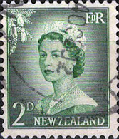 6081 Mi.Nr. 335 Neuseeland (1954) Königin Queen Elizabeth II Gestempelt - Used Stamps
