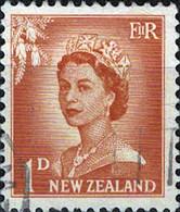 6082 Mi.Nr. 333 Neuseeland (1954) Königin Queen Elizabeth II Gestempelt - Used Stamps
