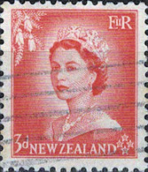6083 Mi.Nr. 336 Neuseeland (1954) Königin Queen Elizabeth II Gestempelt - Used Stamps