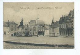 Philippeville Grand'Place Et Banque Nationale - Philippeville