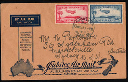 Jubilee Airmail Australia -- New Zealand - Australia 1935. - Posta Aerea