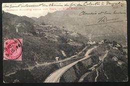 Grande Bretagne Colonies India 1906 De Gyabaree Vers Bourail (Nlle Calédonie) Cachet Sea Post (1034) - 1902-11 King Edward VII