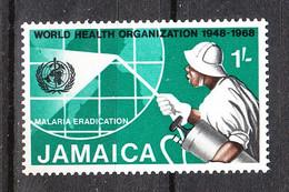 Giamaica  Jamaica  -    1969. Disinfestazionre Contro La Malaria. Disinfestation Against Malaria. MNH - Malattie