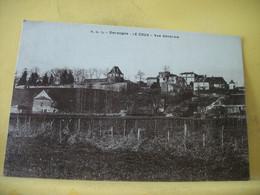 24 3566 CPA 1933 - VUE N° 1 - 24 LE COUX. VUE GENERALE - Otros Municipios