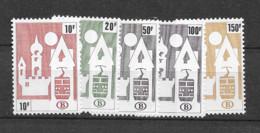 1987 MNH Belgium Mi 385-89 - 1952-....