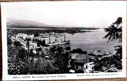 GREECE GRECE PATRAS EGION AIGION AIGIO AEGION ACHAIA PARTIAL VIEW FROM PSILA ALONIA SQUARE 1930 USED - Griekenland