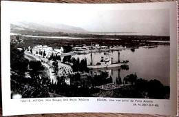 GREECE GRECE PATRAS EGION AIGION AIGIO AEGION ACHAIA PARTIAL VIEW FROM PSILA ALONIA SQUARE 1930 UNUSED - Griekenland
