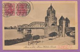 Mainz A. Rh. - Kaiser-Wilhelm-Brücke - Gelauft 1921 - Mainz