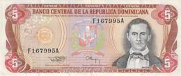 Dominikanische Republik / Dominica P146a  5 Pesos 1994  /20.14 - Dominicana
