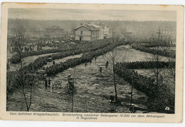 CPA - Augustowo - Brotempfang - östlicher Kriegsschauplatz - Feldpost - Guerra 1914-18