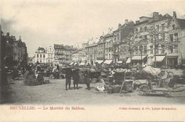 REF4865/ CP-PK Bruxelles Le Marché Du Sablon Animée MINT - Mercati