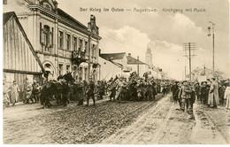 CPA -  Agustowo  - östlicher Kriegsschauplatz   WWI - 1.WK - Guerre14/18 - Guerra 1914-18