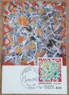 CM 1981 - YT N°2169 - ALFRED MANESSIER / ALLELUIA - PARIS - 1980-89
