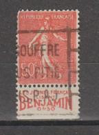 Semeuse Lignée 50c Type 2A  N°199 - Reclame