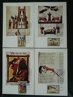 Carte Maximum Card (x6) Légendes Medieval Legends Espagne Spain Ref 85136 - Cartes Maximum