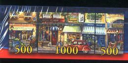 """3 Puzzles!  """"Paris Années 60"""" 1000 +500+500pièces!  136cm Sur 48cm Ed. Noris Neuf Sous Cello - Non Classificati"""