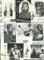 AIR Z.O.M. 1 - DAKAR - Lot De Cartes De Voeux 11 X 7,5 Scènes Et Types Africains - Cartoncini Da Visita