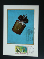 Carte Maximum Card Telecommunications Satellite 1979 Espagne Spain Ref 85266 - Cartes Maximum