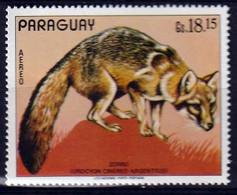 PARAGUAY - Faune, Singe, Chauve-souris, Loup - Poste Aérienne - MNH - Paraguay
