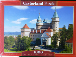 """PUZZLE """"""""Château Bojnice"""" Slovaquie"""" 1000 Pièces  Editions Castorland 75cm Sur 50cm NEUF Avec CELLO* !! - Non Classificati"""