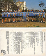 CARTE  CYCLISME GROUPE TEAM ORBEA 1984 ( VOIR PARTIE ARRIERE ) - Ciclismo