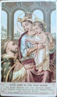 Petite Image Pieuse Religieuse - Notre Dame Du Saint Rosaire  - Ed. BOUASSE - BE - Andachtsbilder