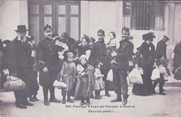 Guerre 14-18, Genève 1915, Passage D' Evacués Français (2833) - War 1914-18