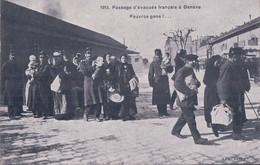 Guerre 14-18, Genève 1915, Passage D' Evacués Français (2834) - War 1914-18