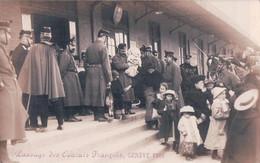 Guerre 14-18, Genève 1915, Passage D' Evacués Français (2835) - War 1914-18