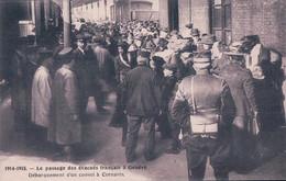 Guerre 14-18, Genève Gare 1915, Train Croix Rouge, Passage D' Evacués Français (2838) - War 1914-18