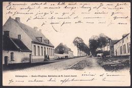 +++ CPA - GHISLENGHIEN - Ath - Route D' Enghien - Habitation De M. Lescot - Jouret - 1905  // - Ath