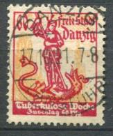 Danzig Mi#  91 Gebraucht/used - TBC Week - Danzig