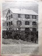 L'illustrazione Popolare 23 Ottobre 1904 Niels Finsen Lupus Club Alpino Gastaldi - Autres