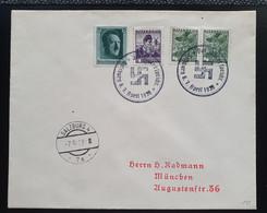 Österreich/DR 1938, Brief MiF Sonderstempel SALZBURG - Storia Postale