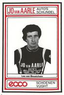 CARTE  CYCLISME LEO VAN BEUSICHEM TEAM JO VAN AARLE 1984 - Ciclismo